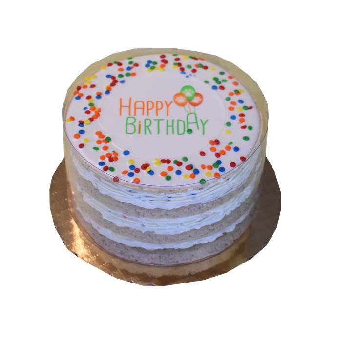 Neutral Layered Birthday Cake 82103 Preppy Puppy Treats Preppy